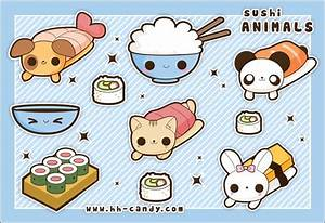 Cute Animal Sushi by A-Little-Kitty.deviantart.com on ...
