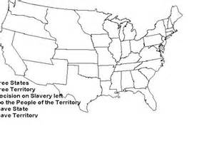 Blank Map of United States during Civil War