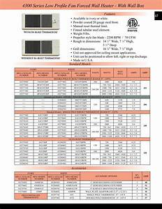 Electric Baseboard Heaters Model Number H2915