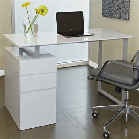 beautiful white desk designs   office