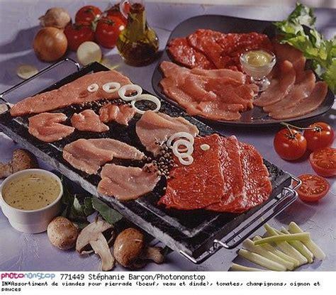 cuisine pierrade assortiment de viandes pour pierrade boeuf veau et dinde