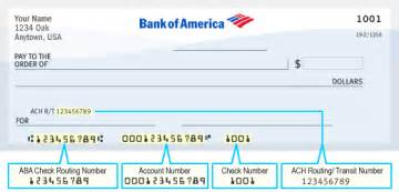 bank of america merchant check verification phone number bank of america routing number faqs