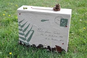 Urne Mariage Champêtre : urne en carton d 39 anniversaire champetre vous avez dit ~ Melissatoandfro.com Idées de Décoration