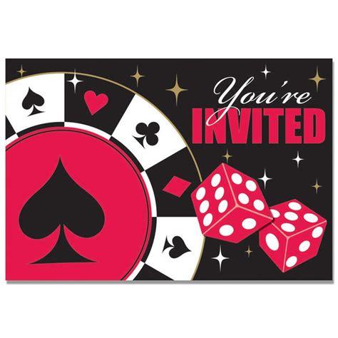 Carte Casino by 8 Cartes D Invitation Pour Soir 233 E 224 Th 232 Me Casino