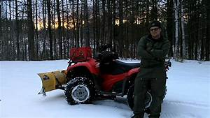 Honda Rancher 420 Snow Plowing Final Thoughts