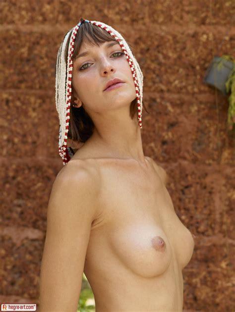 Hegre Art Model Flora Naked In Jungle Studio 16 Photos Erotic Beauties