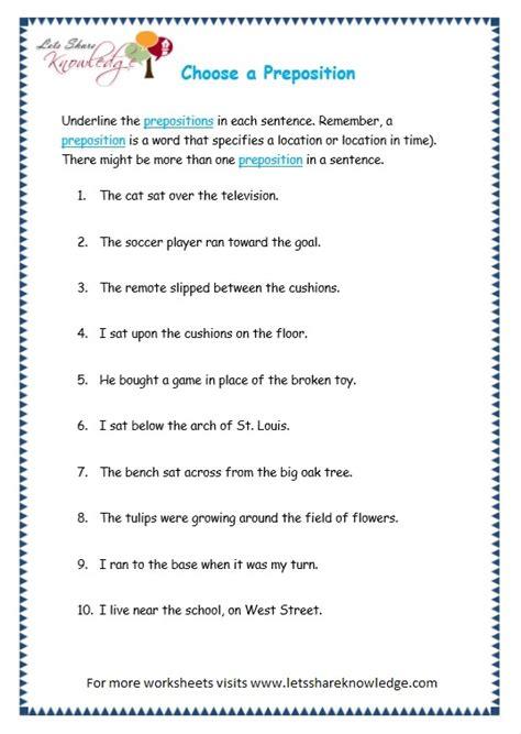all worksheets 187 parts of speech worksheets grade 4