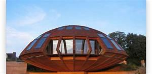 domespace maison bois ronde et rotative construire With maison bois ronde tournante