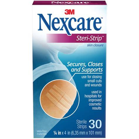 Medicine Cabinet Pharmacy by Nexcare Steri Strip Skin Closure 1 4 Inch 30s
