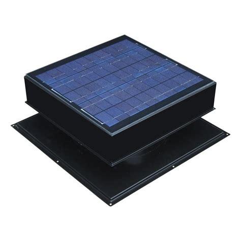 solar powered attic fan reviews remington solar 20 watt 1280 cfm black solar powered attic