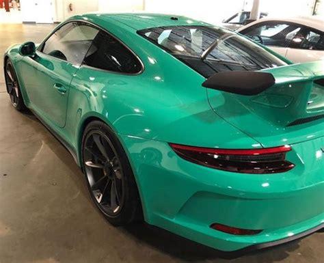 Hellgrun (lighter Green) 2018 Porsche 911 Gt3 Looks
