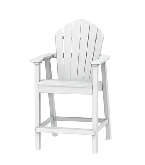 seaside casual adirondack classic balcony chair