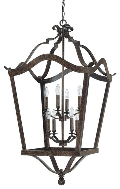 capital lighting 8 light transitional foyer light x bc3919