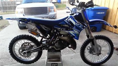 2003 yz 125 with new fmf powercore 2 shorty