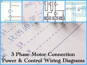 Three Phase Motor Wiring Diagrams