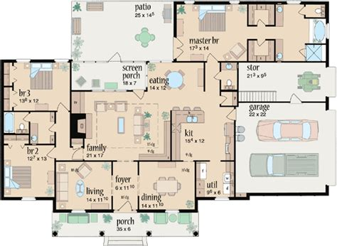 the house plans country style house plans 2349 square foot home