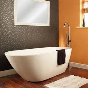 Baignoire Ilot Contre Mur : baignoire ovale tous les fournisseurs de baignoire ovale sont sur ~ Nature-et-papiers.com Idées de Décoration