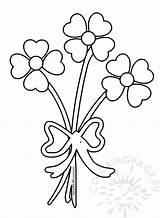 Coloring Hearts Flower Bouquet Flowers Valentine Heart Valentines Roses Monkey Printable Getdrawings Coloringpage Eu Getcolorings Popular sketch template