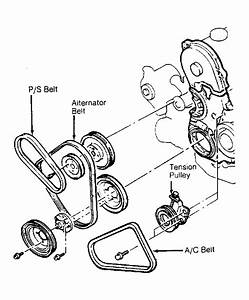 1993 Dodge Spirit Serpentine Belt Routing And Timing Belt