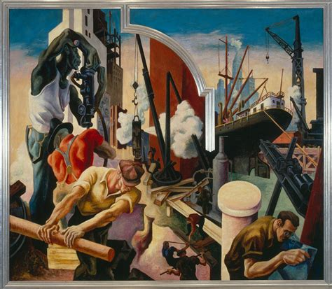american mural artists the history 187 archive 187 hart benton s