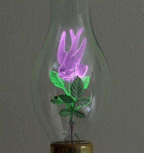 flowers in light bulbs flower light bulbs forgotten wonders of the mid 1900s
