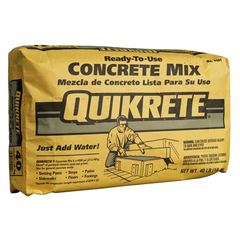 28 cement and concrete products quikrete quikrete