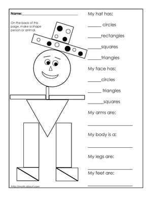 st grade geometry worksheets  students math st