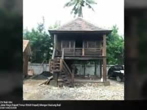 rumah kayu ulin terantique youtube