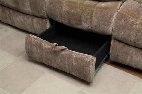 brown fabric recliner sofa brown fabric reclining sofa steal a sofa furniture