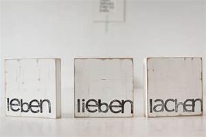Lieben Leben Lachen : fliesen kacheln text kunst an der wand leben lieben lachen ein designerst ck von iopla ~ Orissabook.com Haus und Dekorationen