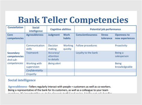 prepare    bank teller jobtestprep