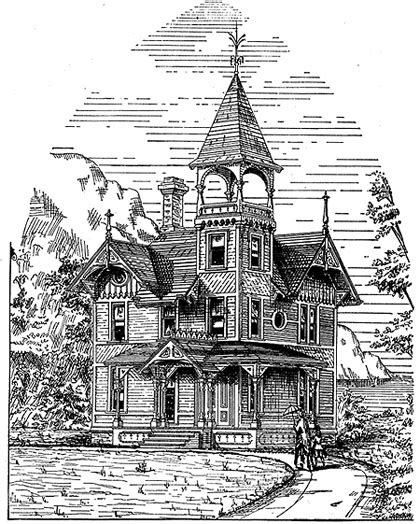 cottage house plans victorian cottage