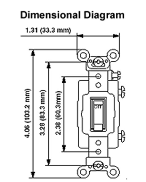 Leviton Amp Volt Toggle Single Pole