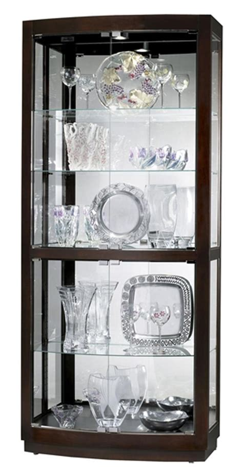 this display cabinet has halogen lighting and for