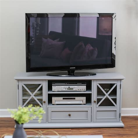 belham living hton tv stand gray tv stands at hayneedle