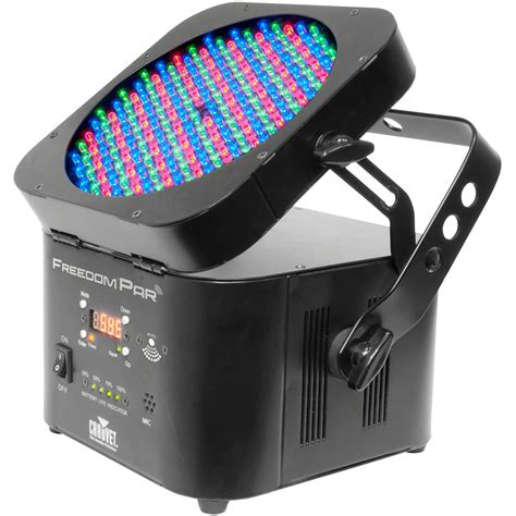 led wireless lights chauvet dj freedom par wireless led dmx wash light