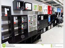 Interior Furniture Store Ikea Editorial Photography