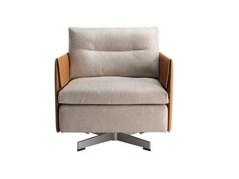 Buy The Poltrona Frau Grantorino Swivel Armchair At Nest.co.uk