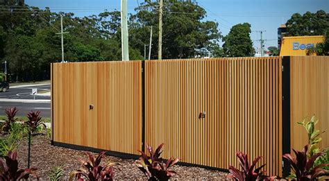 privacy fence innowood screening system