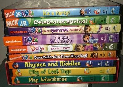 nick jr the explorer dvd lot of 9 two are new 9 33 picclick