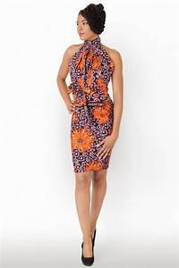 pour un joli cortege colore la robe en wax my cultural With robe originale chic