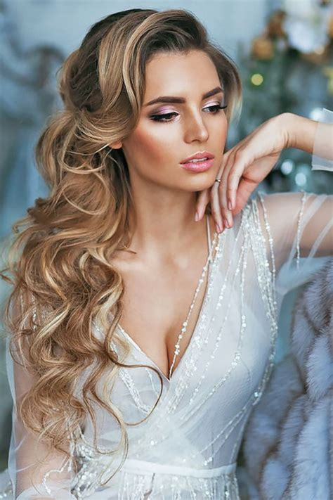 45 most romantic wedding hairstyles for long hair page 4