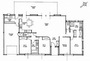 plan de maison a toit plat gratuit With maison contemporaine plan gratuit