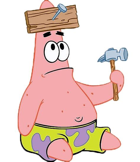 Patrick Star By Thecaminater Redbubble