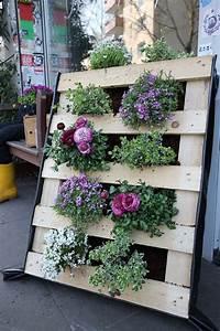 Europalette Deko Garten : un mini jardin avec une palette 20 id es pour vous ~ Watch28wear.com Haus und Dekorationen