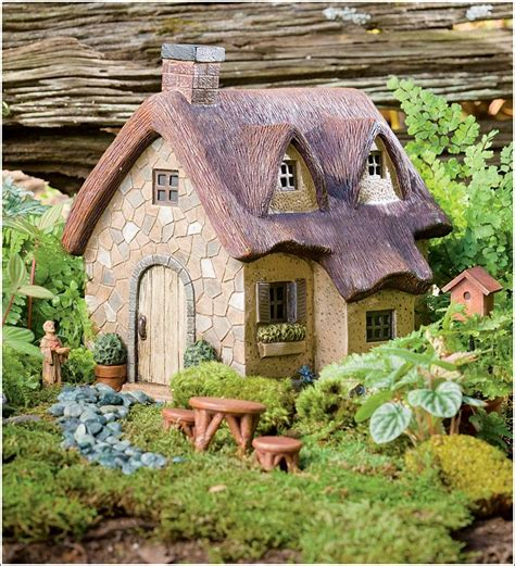 Enchanted Miniature Fairy Gardens With Houseswhere