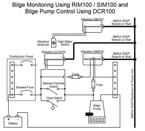 wiring diagram for bilge float switch the wiring