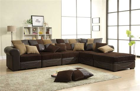 homelegance lamont modular sectional sofa set