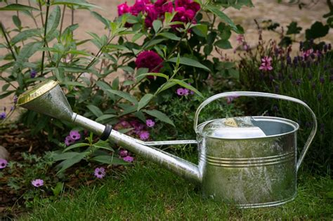 somit gießen gartenmöbel gie 223 kanne metall verzinkt 4 liter