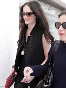 Eva Green Highlights Her Lithe Frame In Lacy Black
